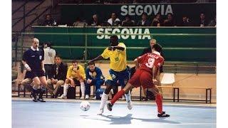 Brazil v. Spain - Futsal World Cup FINAL 1996 - HIGHLIGHTS