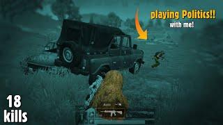 PUBG MOBILE: This Man Playing *POLITICS* with me, 18 kills Full rush Gameplay   gamexpro