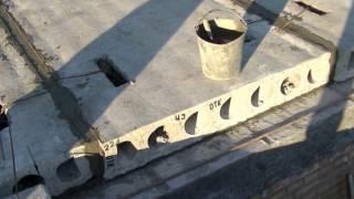 СОВЕТ КАК и ЧЕМ быстро и БЕСПЛАТНО заделать пустоты в ПЛИТАХ ПЕРЕКРЫТИЯ при их заливке бетоном.