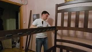 Инструкция как собрать двухъярусную кровать 'Карина' и 'Карина Люкс' Часть 2