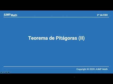 2. Unidad 4. Pitágoras II
