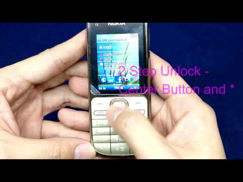 Nokia C2-01 3G Senior Citizen Phone Singapore