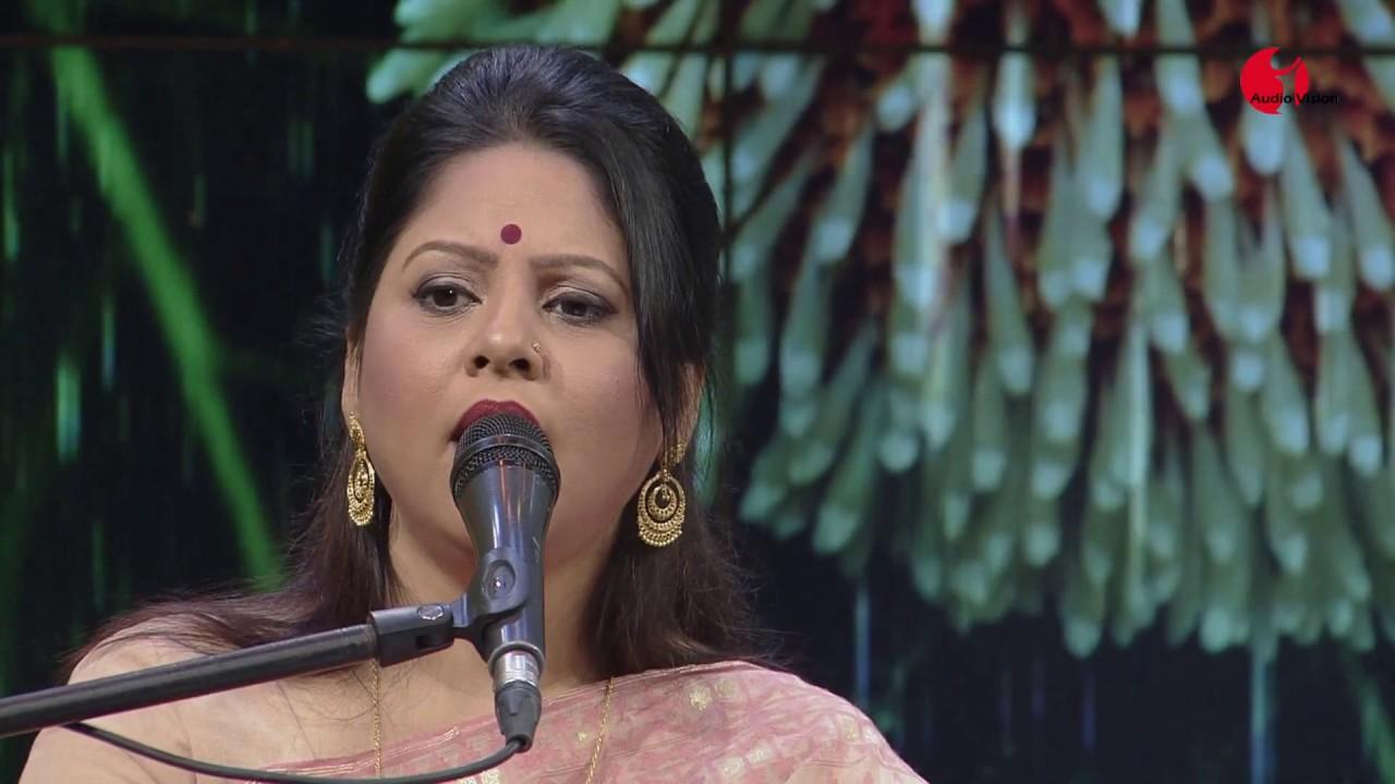 Ogo Amar Srabon Megher Kheya | Gaane Gaane Shokal Shuru | Sathi Sarkar | Tagore Song | Channel i