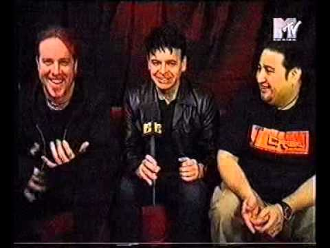 Fear Factory - Interview  with Burton, Dino and Gary Numan 1999