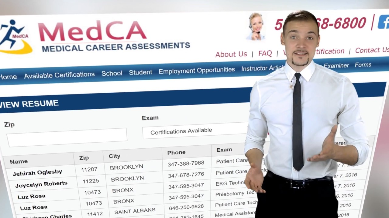 How To Post Your Resume At Medca Youtube