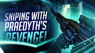 Destiny: My First Destiny Sniper   Sniping With Praedyth's Revenge!