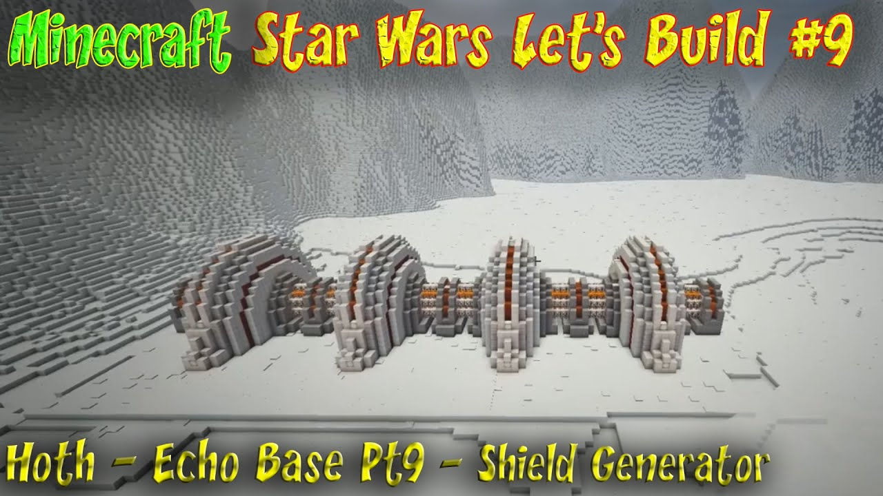 ... Star Wars Ep9 Battle of Hoth Echo Base Shield Generator - YouTube