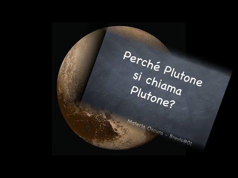 La curiosa storia del nome di Plutone - Materia Oscura Brevis#01 - CURIUSS