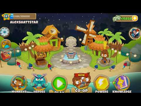 Repeat Bloons TD 6 - Haunted - Chimps - Black Border (9 0 patch) by