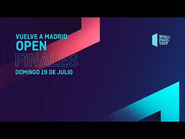 Finales - Vuelve A Madrid Open 2020  - World Padel Tour - World Padel Tour
