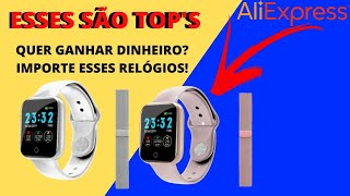 UNBOXING DE SMARTWATCH DO ALIEXPRESS/  Ótimos Para Revenda