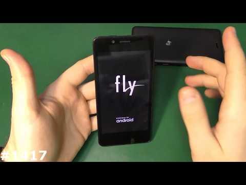 Как включить телефон fly