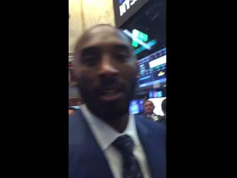Kobe Bryant NYSE