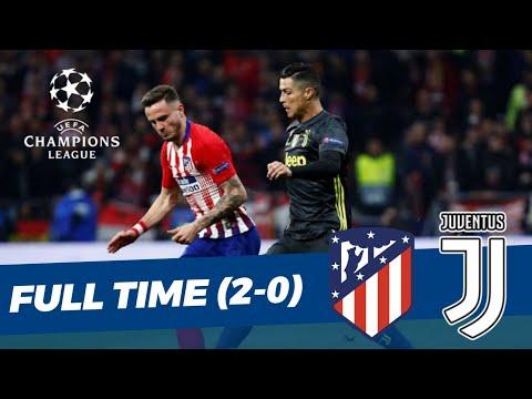 Atletico Madrid (2) vs (0) Juventus • UEFA Champions League • Hasil Pertandingan
