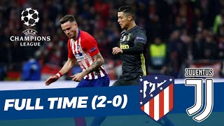 Atletico Madrid (2) vs (0) Juventus • UEFA Champions League • Hasil Pertandingan
