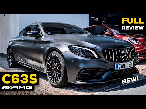 2020 MERCEDES AMG C63 S Coupé vs C43 NEW FACELIFT FULL Review BRUTAL Sound Exhaust Interior