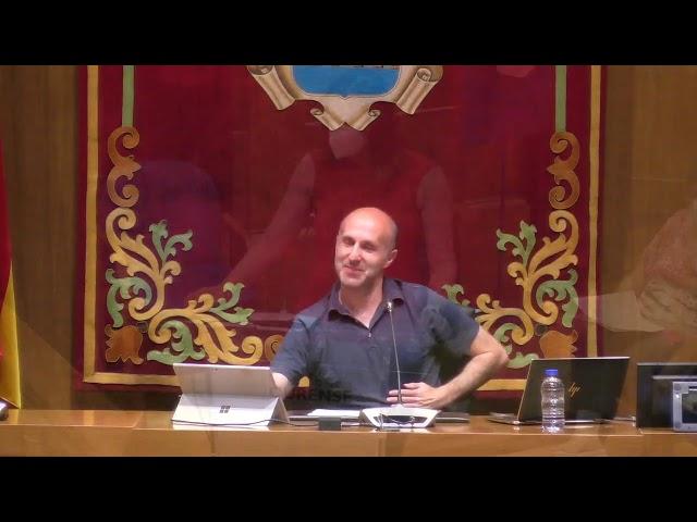 Pleno extraordinario Concello de Ourense 17 7 2020