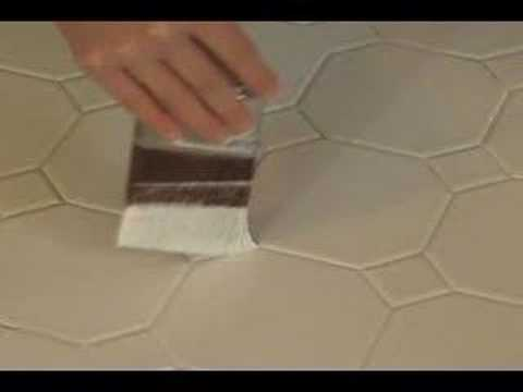 Painting Bathroom Tile Stencil
