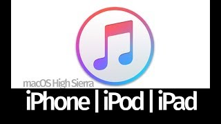 How to Sync Music from macOS High Sierra to iPhone iPad iPod