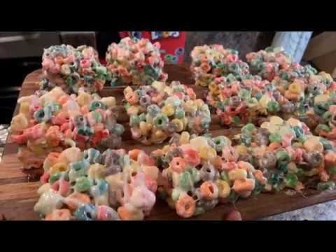 How To Make Fruit Loop Cereal Bars