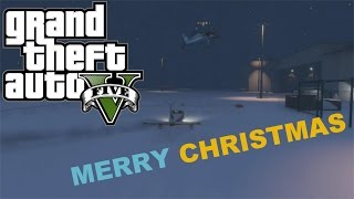 GTA 5 Online: The Grinch Stole Christmas!!!!!