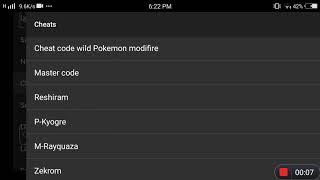Pokemon mega emerald cheats