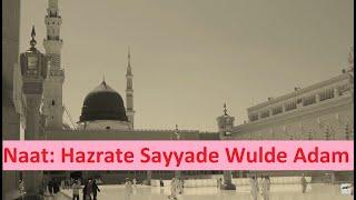 Hazrate Sayyade Wulde Adam - Beautiful Naat - Muhammad Mustafa (saw) - Yunus Mohammad - Islam