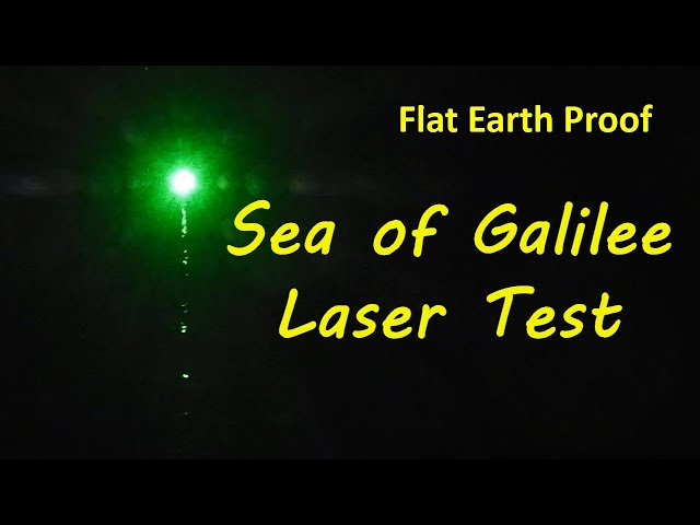 Sea of Galilee Flat Earth Proof