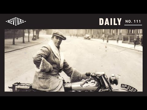 Bringing a 96 Year Old Brough Superior Back to Life // Revival Daily 111