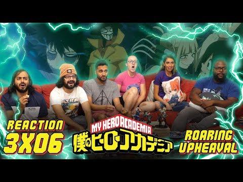 My Hero Academia - 3x6 Roaring Upheaval - Group Reaction