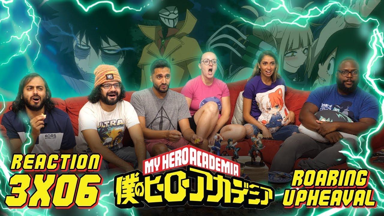 Download My Hero Academia - 3x6 Roaring Upheaval - Group Reaction