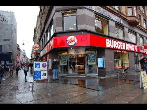 Burger King Workers in Denmark Make $20 an Hour!