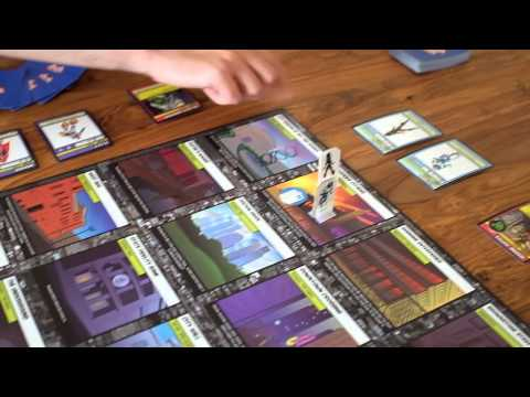 Villains and Vigilantes Card Game Setup