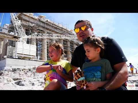 VLOG 🇬🇷 Εκδρομή στην Ακρόπολη 🏛 Μαθαίνω για τον Παρθενώνα greek ελληνικά βίντεο για παιδιά