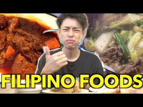 THIS IS MY FAVORITE FILIPINO FOODS!!【FOOD VLOG】