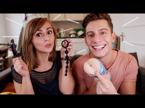 Sex Toys for Men with Riyadh K! | Hannah Witton