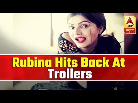 TV Actress Rubina Dilaik Hits Back At Trollers ! | ABP News
