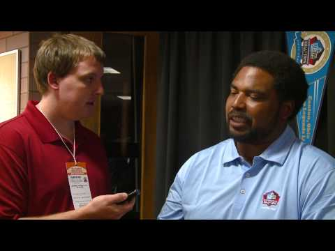 Jonathan Ogden Hall of Fame Interview by Lee Kuveikis