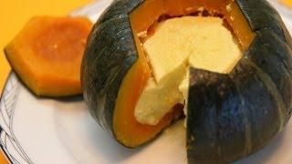Pumpkin Coconut Custard - Laos Recipe - Cookingwithalia - Episode 301