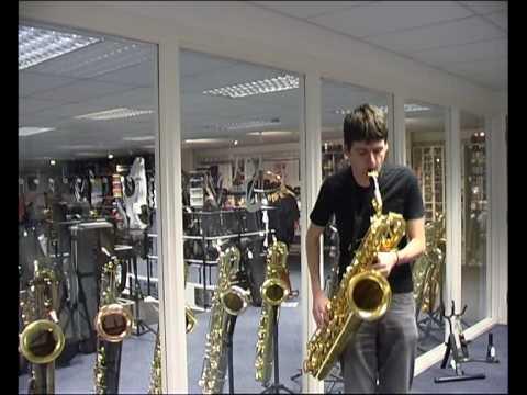 Yanagisawa B901 Baritone Saxophone - Sax co uk Review