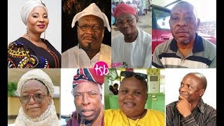 17 Nollywood stars that died between 2017 and 2018