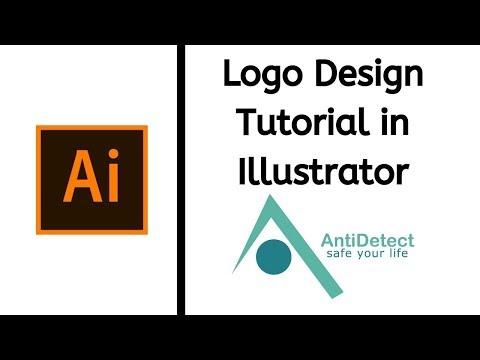 Logo Design Tutorial in Adobe illustrator | Hindi/Urdu thumbnail