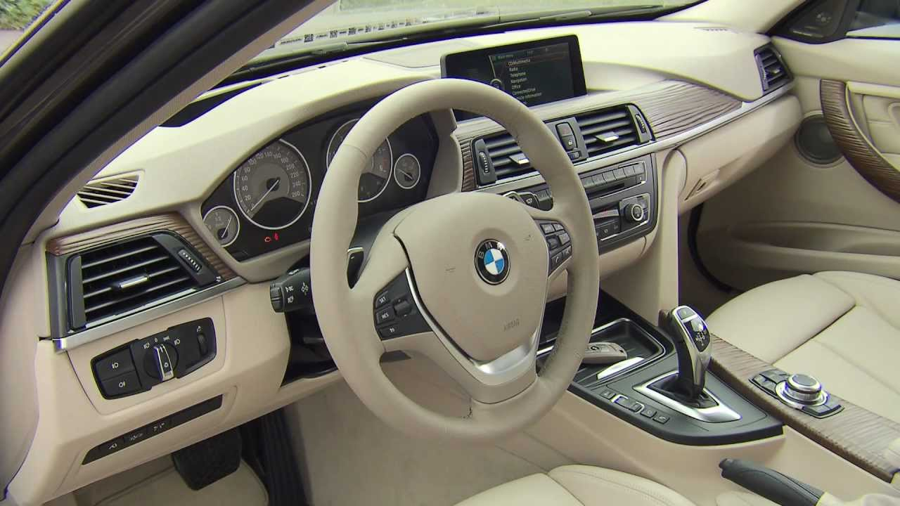 Bmw 3 series sedan 320d modern line interior hd youtube for Bmw modern line