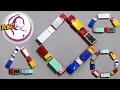 用TOMICA 玩具車砌出不同形狀 - 學習形狀