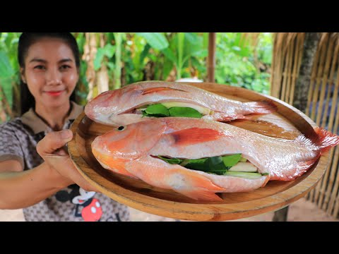 Tasty Fish Grilled With Noodle Recipe