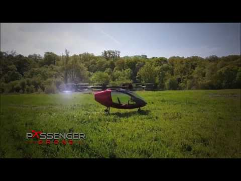 Passenger Drone - The most advanced Manned Autonomous VTOL in the World !!!
