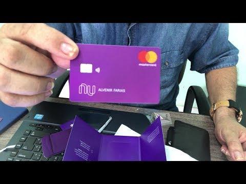 Chegou Meu Novo Cartão Nubank Contactless #sounu