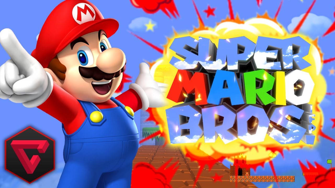 It's just an image of Old Fashioned Mario Bros Picture