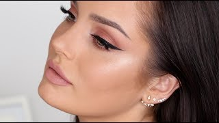 Updated Neutral Glam Makeup Tutorial \ Chloe Morello
