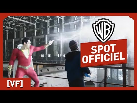 SHAZAM ! Spot Officiel Super (VF) - Zachary Levy / Asher Angel